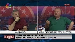 30/07/2018 ORDU MEYDANI ÖZEL - CEMAL ENGİNYURT / MHP ORDU MV.