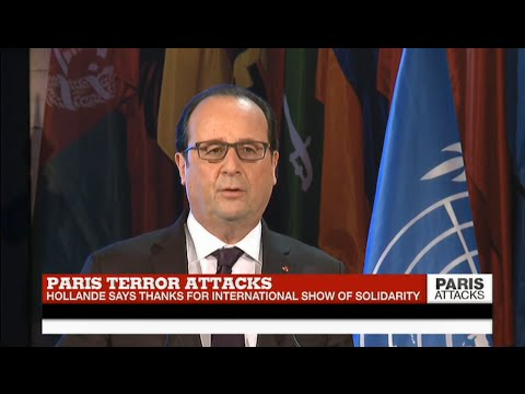 REPLAY - Watch French president Hollande's address to UNESCO after Paris Attacks