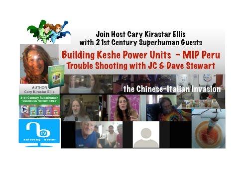 Building Keshe Power Units MIP Peru - Chinese-Italian Invasion - 21st Century Superhuman