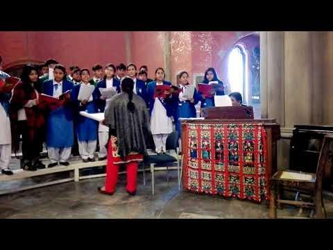 Little Donkey  Christmas Carol by Cathedral School , Hall Road, Choir