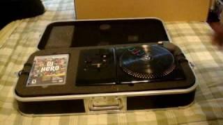 DJ HERO: RENEGADE EDITION UNBOXING  PART1