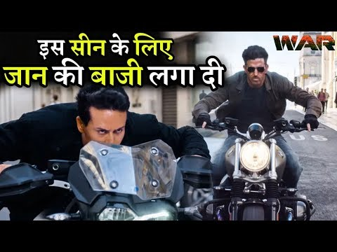 War Shooting Highly Risky Scene Tiger Shroff Jump on Hrithik Roshan Superbike Mp3