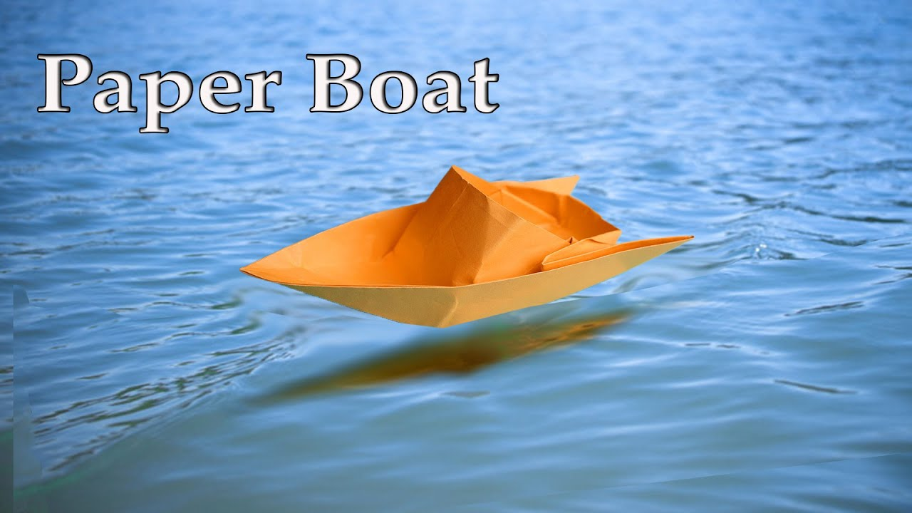 how to make a paper boat easy for kids how to make a boat out of