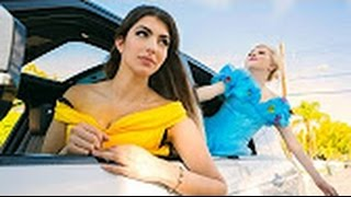 Disney Princess Carpool Ride - Beautiful girl Car
