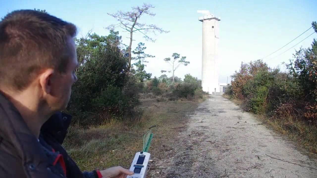 HF35C EMF Meter - Measuring Cell Tower Radiation