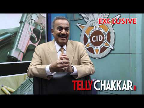 Tellychakkar.com catches up with Shivaji Satam on the sets of CID