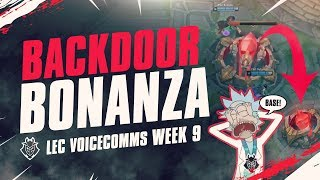 Backdoor Bonanza | LEC Week 9 G2 Voicecomms