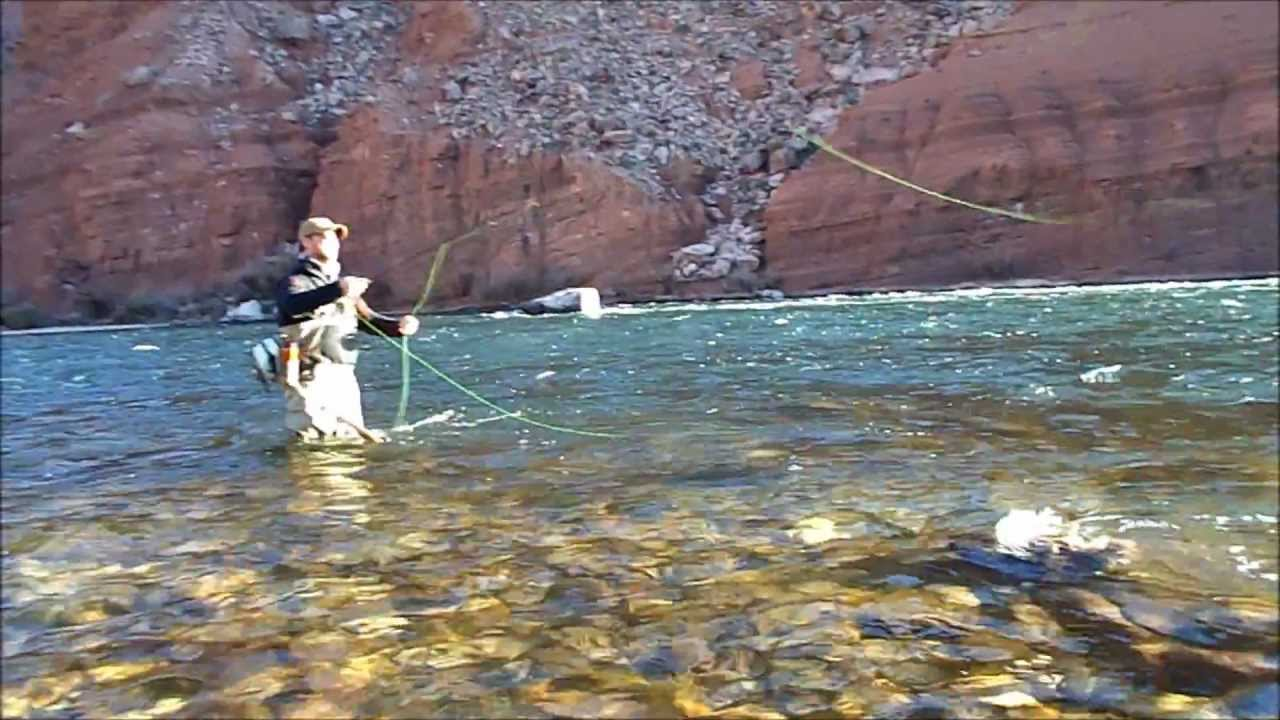 Sedona fly fishing adventures lee 39 s ferry new years day for Sedona fly fishing