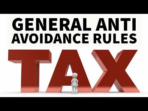 GAAR - General Anti Avoidance Rules - Full analysis in HINDI