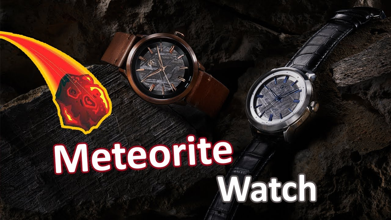 f7a0513abae Zelos Meteorite Watches - YouTube