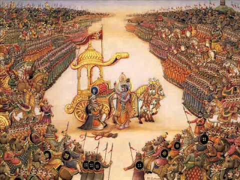 01 - Bhagavad Gita (česky) - Sklíčenost Ardžunova