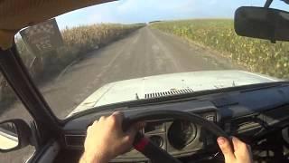 """Поездка в Село на ваз 2104 """"Майонез"""", едем по сельским дорогам 100 км/час"""