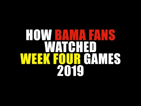 How Bama Fans Watched Week Four 2019