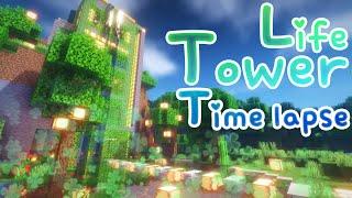 마인크래프트 타임랩스 / 라이프 타워 타임랩스 Minecraft Build / Life Tower Timel…