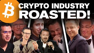 Chico Crypto's Ricky Gervais ROAST of the Crypto Industry