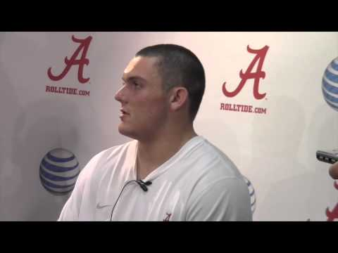Alabama C Ryan Kelly evaluates O-line play vs. WVU