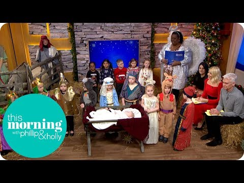 This Morning's Christmas Nativity | This Morning