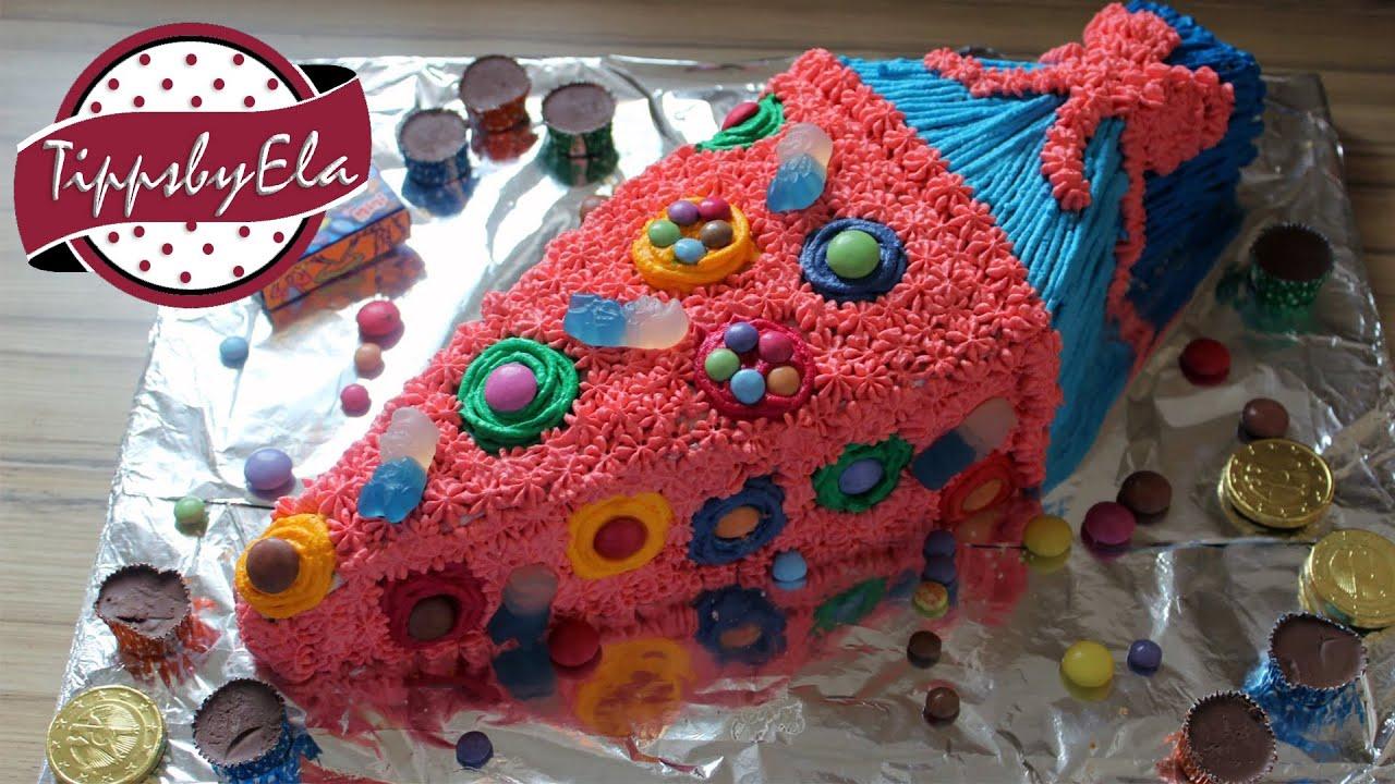 Schultüte Torte Backen Einschulungstorte School Cone Cake How To