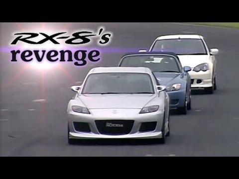 [ENG CC] RX-8 A Spec Vs. S2000, Integra Type R DC5, Golf R32, Alfa 147 GTA Tsukuba 2003