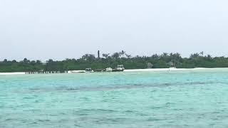 몰디브에서 가장 고급스러운 워터 빌라.