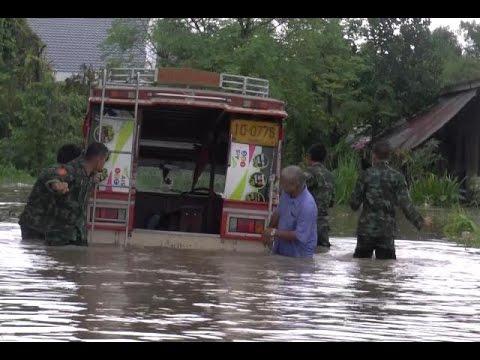 ระนองอ่วม ฝนถล่ม-น้ำท่วมฉับพลันคนเดือดร้อนอื้อ