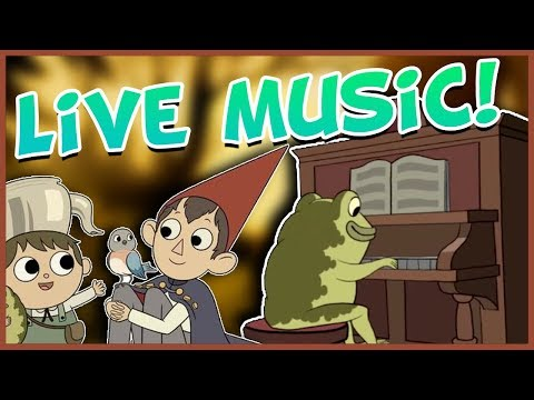 Over the Garden Wall LIVE CONCERT w/ The Blasting Company, Patrick McHale, & More!
