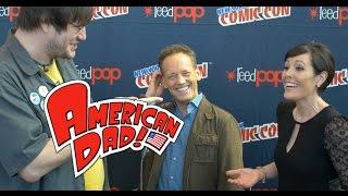 american dad interview   ny comic con 2014