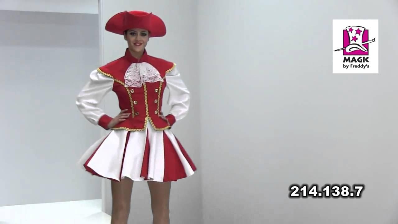 Costume Majorette Rouge-v29921  sc 1 st  YouTube & Costume Majorette Rouge-v29921 - YouTube