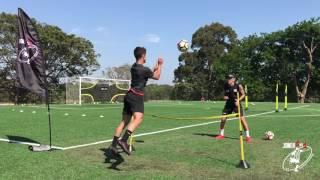 insane soccer training number 1 private coach in australia joner 1on1