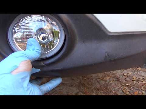 2004 Infiniti FX 35 Fog Lights Replacement And Fog Light Bulb Replacement