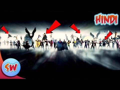 Dc New Intro Reavel all Characters | Explained in Hindi | Dc Extended Universe