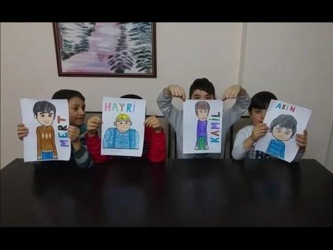 Rafadan Tayfa boyama kapışması. Rafadan Tayfa çizgi film karakterleri boyadık. En güzel kim boyadı?