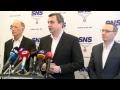 Vyhlásenie Andreja Danka po predsedníctve SNS
