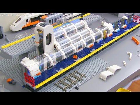 LEGO Train Station MOC update #5