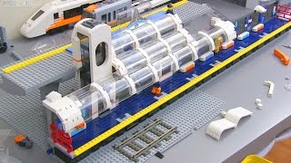 LEGO Train Station MOC update #5