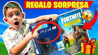 LE REGALO UNA PS4 PRO POR SORPRESA A MI HERMANO!!!