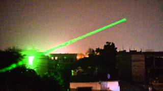 Green Laser | Night Test [HD]