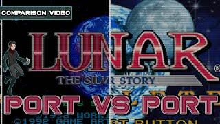 Port vs Port | Lunar Silver Star Story | Sega CD Saturn PS1 GBA PSP | Kelphelp