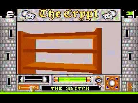 The Crypt - Incentive/Domark (atari st)