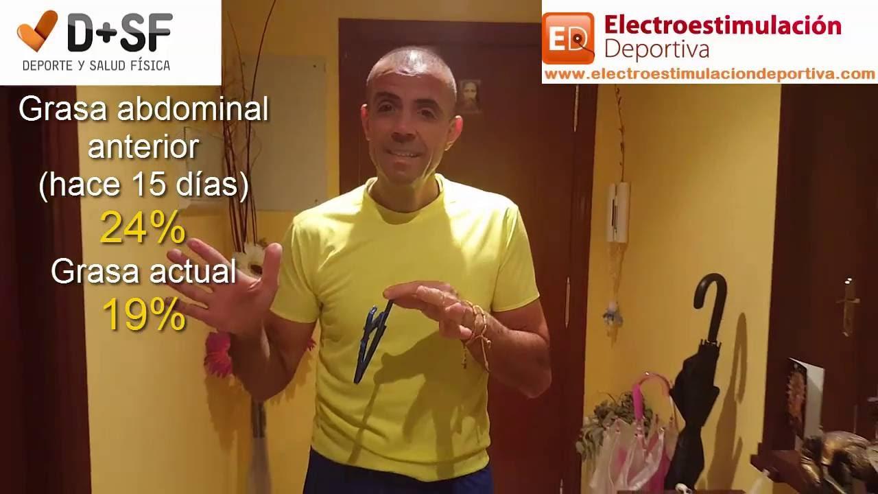 perder peso electroestimulacion