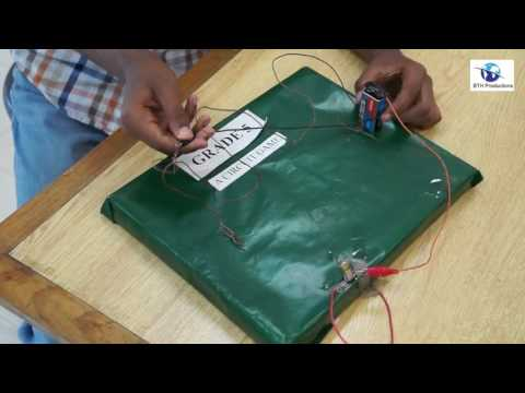 Science Project: Circuit Game by Taha - Grade 5