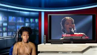 The Voice 2017 Brooke Simpson Finale 34 O Holy Night 34 Reaction