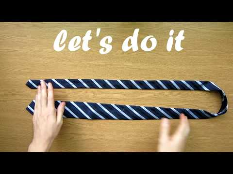 how to make a full windsor tie
