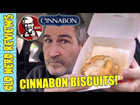 KFC Cinnabon ® Dessert Biscuits REVIEW 🍩