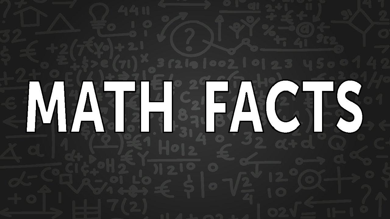3 Interesting Math Facts #shorts