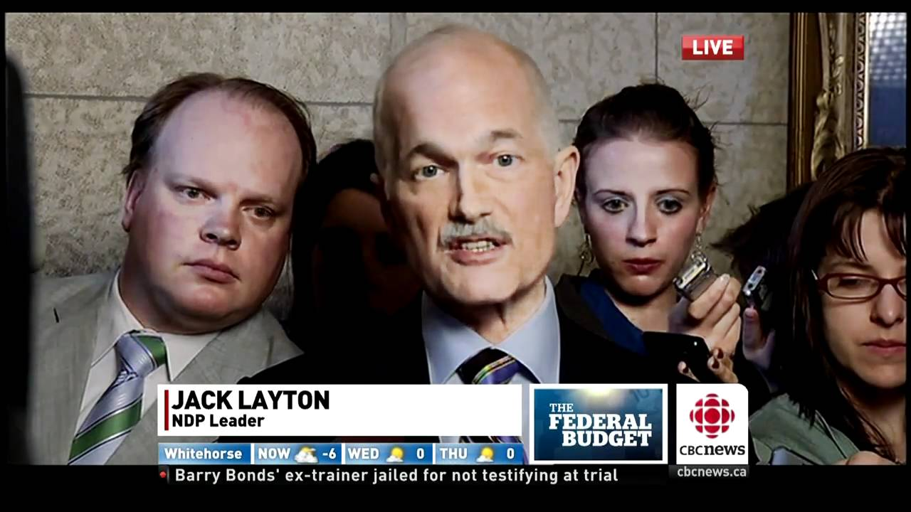Jack layton big ass comment