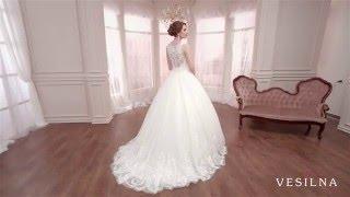 Свадебное платье 2016 года от VESILNA™ модель 3004