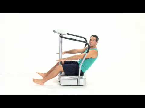 Vitality600 Vibration Machine Exercise Platform-healthy whole body fitness work out
