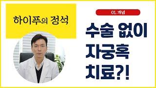 [하이푸의 정석] 1. 수술 없이 자궁혹 치료?! 하이…