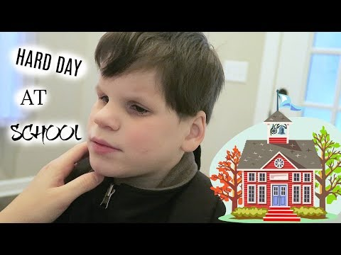 A ROUGH DAY AT SCHOOL/ SPECIAL NEEDS (Vlogmas Day 7)